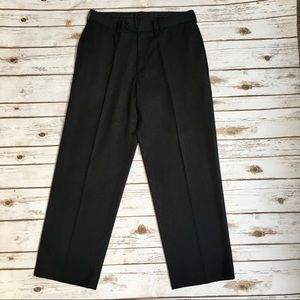 Van Heusen dark gray pinstripe slacks/dress pants